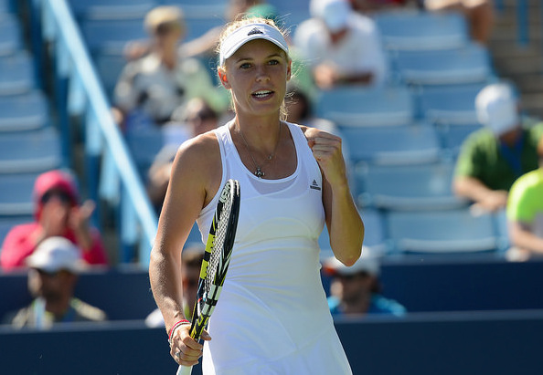 """Sunshine"" Wozniacki shone bright this summer. Can she keep it up? Photo: Christopher Levy"