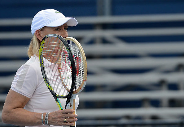 Martina Navratilova has been a key commentator for Tennis Channel. Photo: Christopher Levy