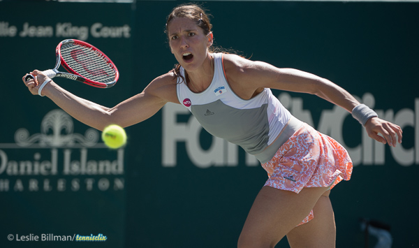 Petkovic Moves On At Family Circle Cup