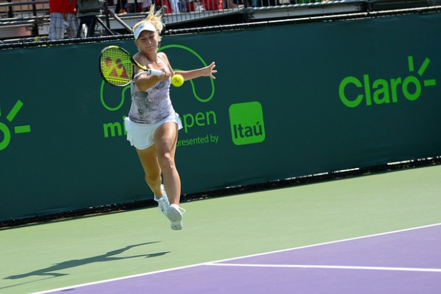 The Russian-born Aussie is turning heads and up to a career-high ranking. Photo: Christopher Levy